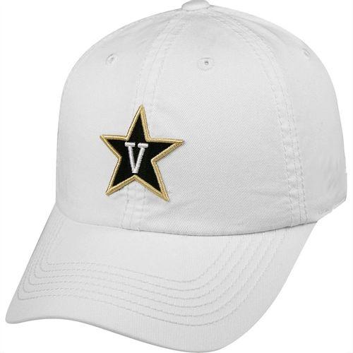 """New Era Vanderbilt Commodores Star """"V"""" Logo Hat (White)"""