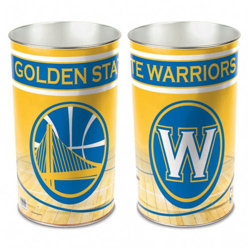 Golden State Warriors Logo Tapered Trashcan