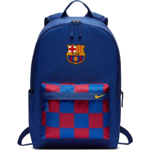 Nike FC Barcelona Stadium Backpack (Deep Royal Blue/Red)
