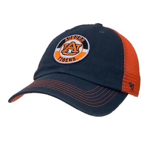 '47 Brand Auburn Tigers Porter 47 Clean Up Adjustable Hat (Vintage Navy/Orange)