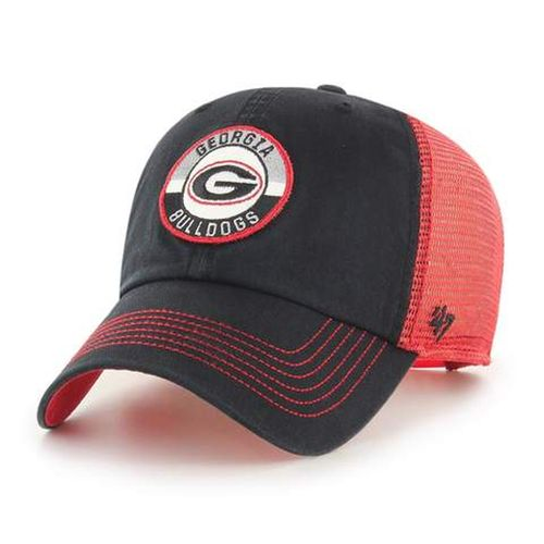 '47 Brand Georgia Bulldogs Porter 47 Clean Up Adjustable Hat (Black/Red)