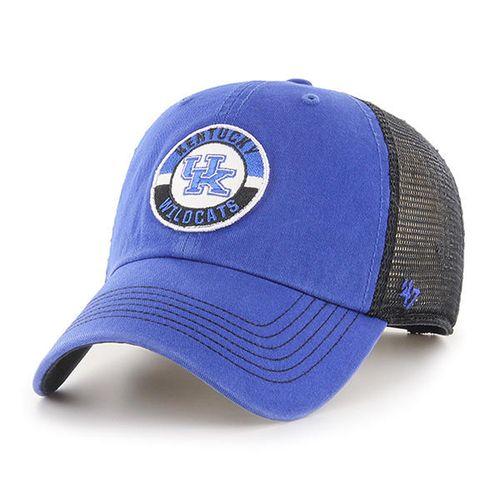'47 Brand Kentucky Wildcats Porter 47 Clean Up Adjustable Hat (Royal/Black)