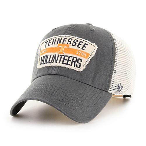 '47 Brand Tennessee Volunteers Crawford 47 Clean Up Adjustable Hat (Charcoal)