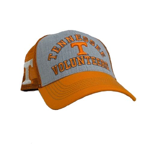 '47 Brand Tennessee Volunteers Savoy Snap 47 MVP Adjustable Hat (Vintage Orange/White)