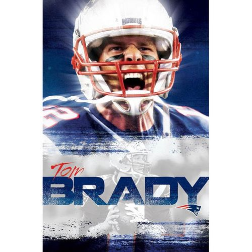 New England Patriots Tom Brady 2016 Poster