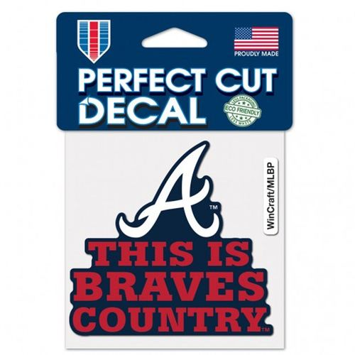 Atlanta Braves Country Decal