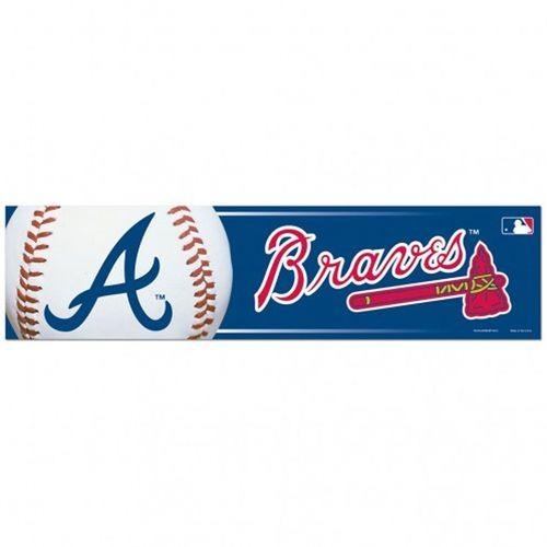 Atlanta Braves Bumper Strip Decal