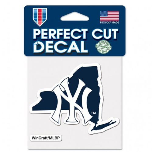 New York Yankees State Decal