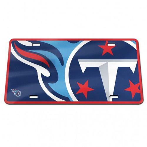 Tennessee Titans Mega Logo License Plate