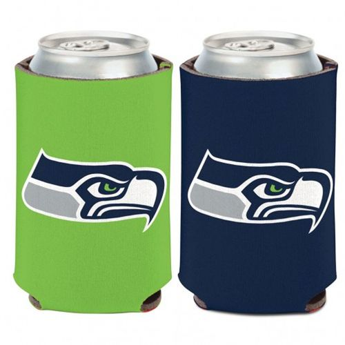 Seattle Seahawks Logo Double Sided Can Cooler