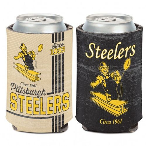 Pittsburgh Steelers Vintage Can Cooler