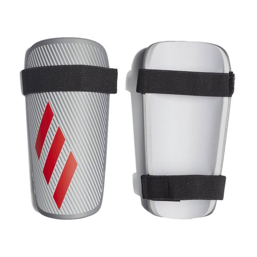 Adidas X Lite Shin Guards (Silver/Red)