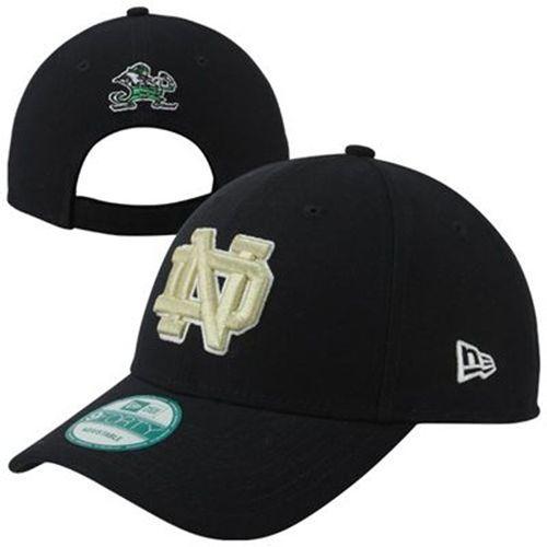 New Era Notre Dame Fighting Irish The League Hat (Navy)