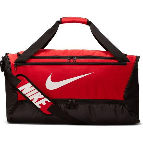 Nike Brasilia Medium Training Duffel Bag (University Red)