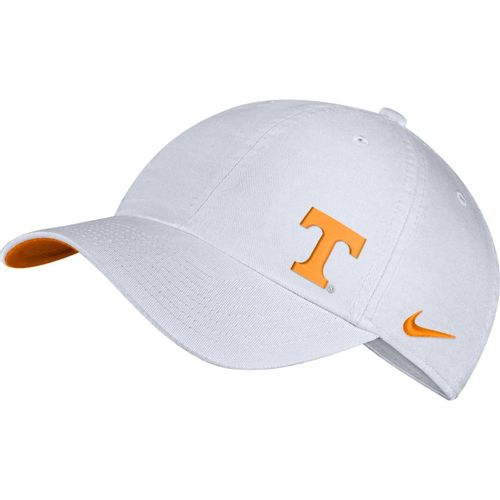 Nike Tennessee Volunteers Heritage86 T Logo Adjustable Hat (White/Orange)