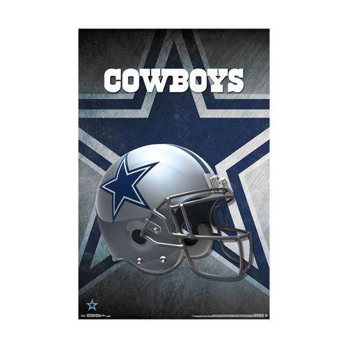 Dallas Cowboys Helmet Poster