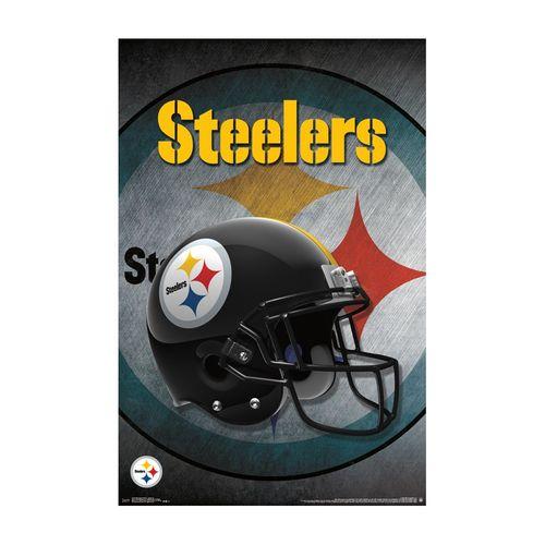 Pittsburgh Steelers Helmet Poster