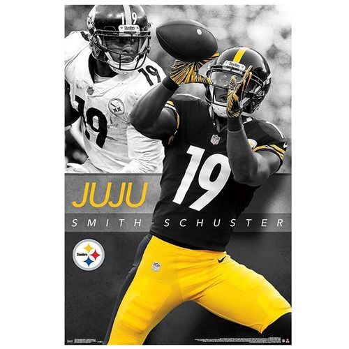 Pittsburgh Steelers JuJu Smith-Schuster 2019 Poster