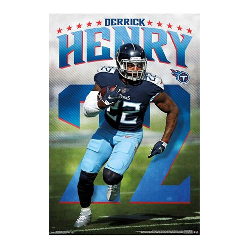 Tennessee Titans Derrick Henry Poster
