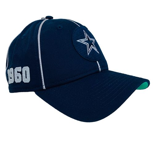 New Era Dallas Cowboys 2019 Sideline 1960's Circle Hat (Navy)