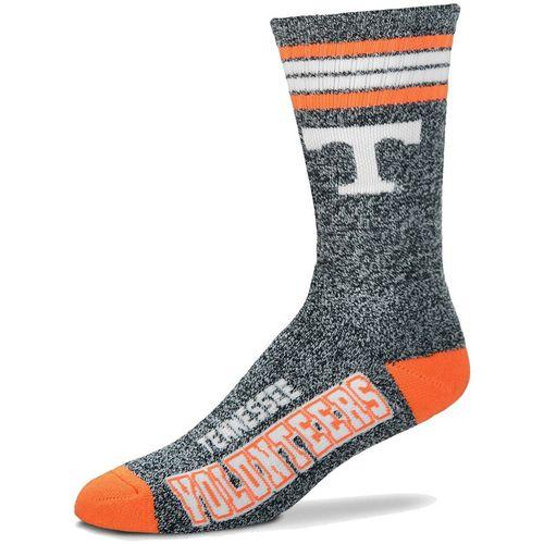 Tennessee Volunteers Marbled 4 Stripe Deuce Sock
