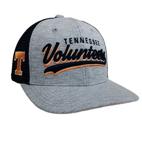 Tennessee Volunteers Cutter Adjustable Snapback Hat (Heather/Black)