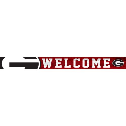 Georgia Bulldogs Welcome Strip Sign