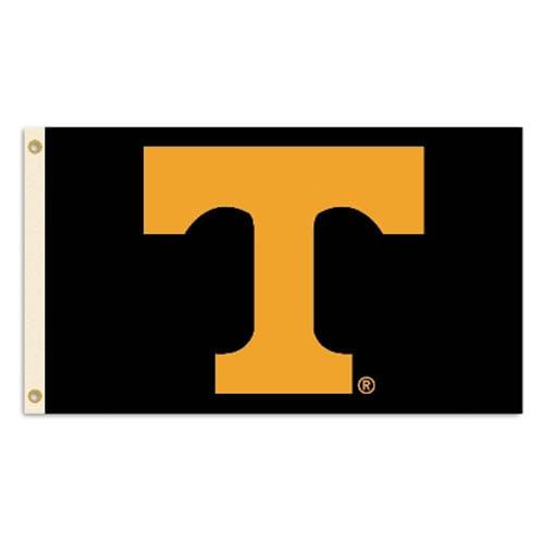 Tennessee Volunteers Logo Flag (Black)