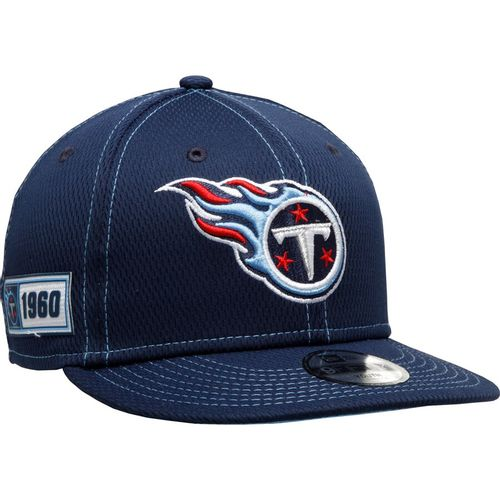 New Era Tennessee Titans 2019 Sideline Road 950 Adjustable Hat (Navy)