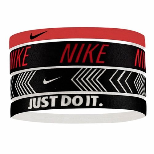 Nike Printed 4 Pack Headbands (Multi)