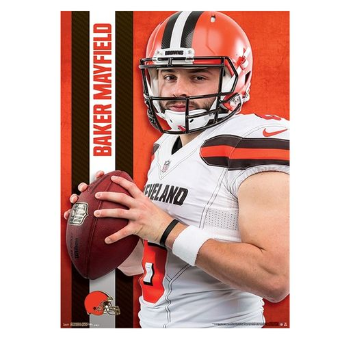 Cleveland Browns Baker Mayfield 2019 Poster