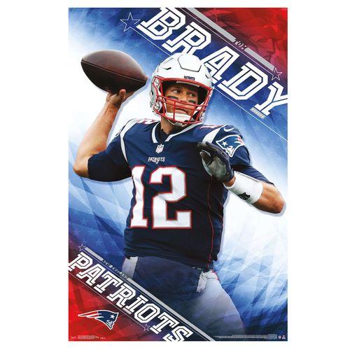 New England Patriots Tom Brady 2019 Poster