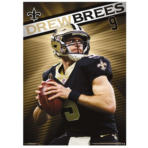 New Orleans Saints Drew Brees 2019 Poster