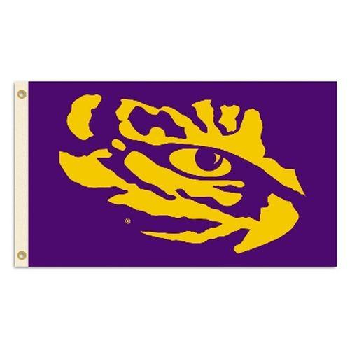 LSU Tigers Logo Flag