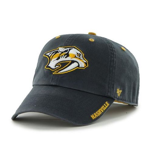 '47 Brand Nashville Predators Ice Clean Up Adjustable Hat (Navy)