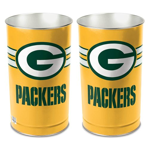 Green Bay Packers Tapered Trashcan