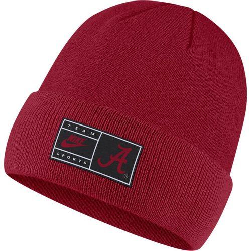 Nike Alabama Crimson Tide Cuffed Beanie Hat (Crimson)