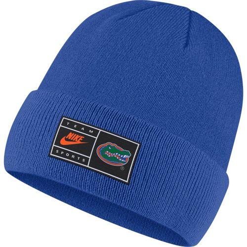 Nike Florida Gators Cuffed Beanie Hat (Royal)