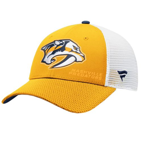 Fanatics Nashville Predators Authentic Pro Rinkside Adjustable Hat (Gold)