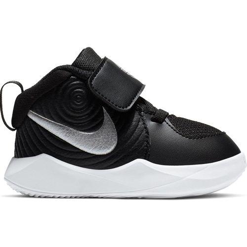 Toddler Nike Team Hustle D9 (Black/Silver)