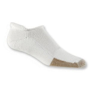 Thorl-Lo Tennis Roll-Top Sock (White)