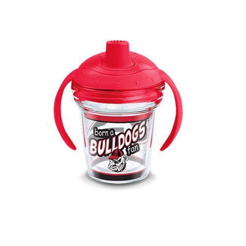 Georgia Bulldogs Born A Fan Tervis 6oz Sippy Cup