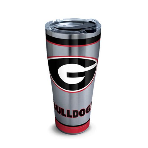 Georgia Bulldogs 30oz Traditional Stainless Steel Tervis Tumbler