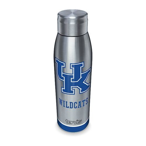 Kentucky Wildcats Slim Stainless Steel 17oz Tervis Water Bottle with Lid