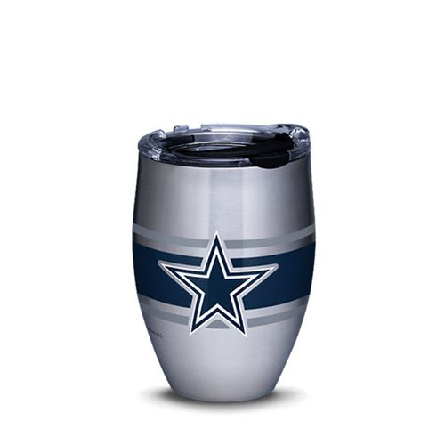 Dallas Cowboys Stripe Stainless Steel Wine Tumbler