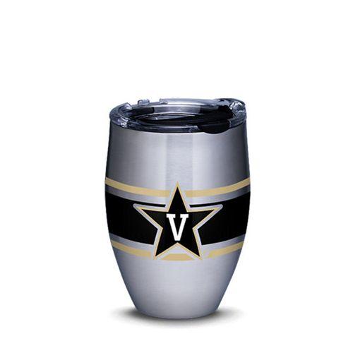 Vanderbilt Commodores Stripe Stainless Steel Wine Tumbler
