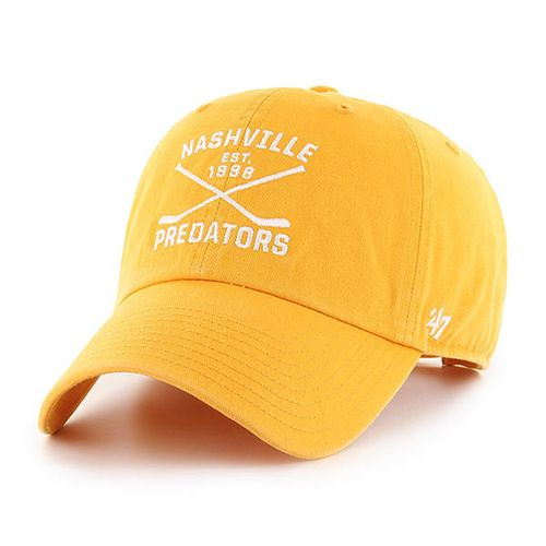'47 Brand Nashville Predators Axis Clean Up Adjustable Hat (Gold)