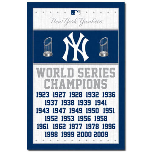 New York Yankees Championships Poster