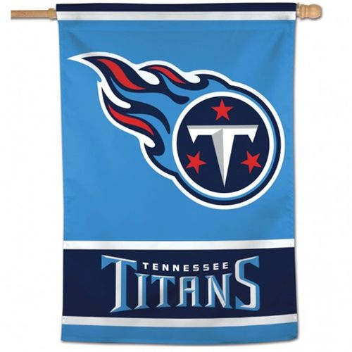 Tennessee Titans Logo Vertical Flag