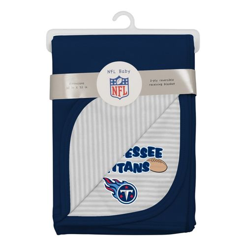 Tennessee Titans Reversible Baby Blanket (Navy)